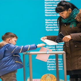 Support Initiative of Open and Unbiased Election Program in the Republic of Kazakhstan in 2004