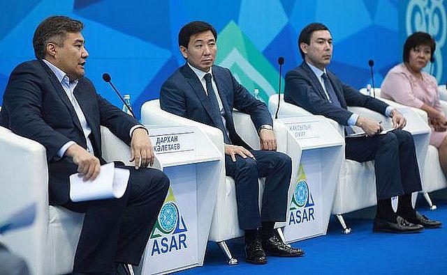 Дархан Калетаев на АСАР